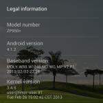 Zopo ZP950 screen2