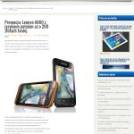 Lenovo A820 - przeglądarka 1