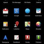 ZTE V987 screen 2