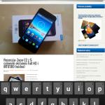 Lenovo A830 - przeglądarka 4