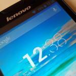 Lenovo A830 - ekran 2