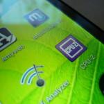 ZTE V967s - ekran 1