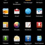 ZTE V967s - screen 3