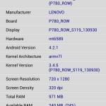 Lenovo P780 - screen 15