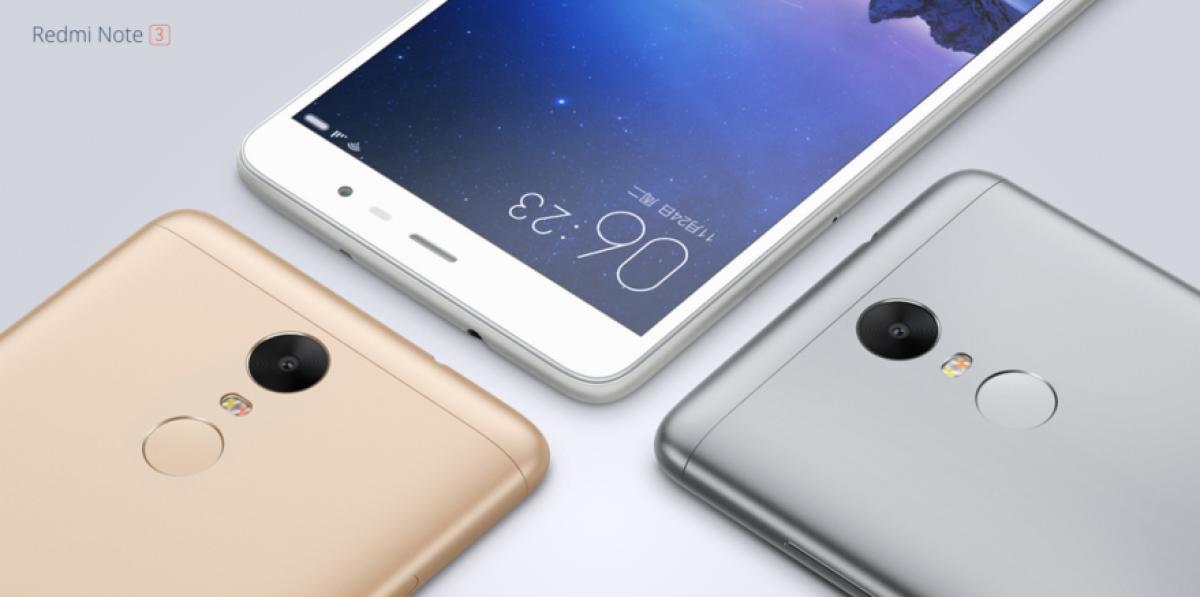 Xiaomi Redmi Note 3 / fot. producenta