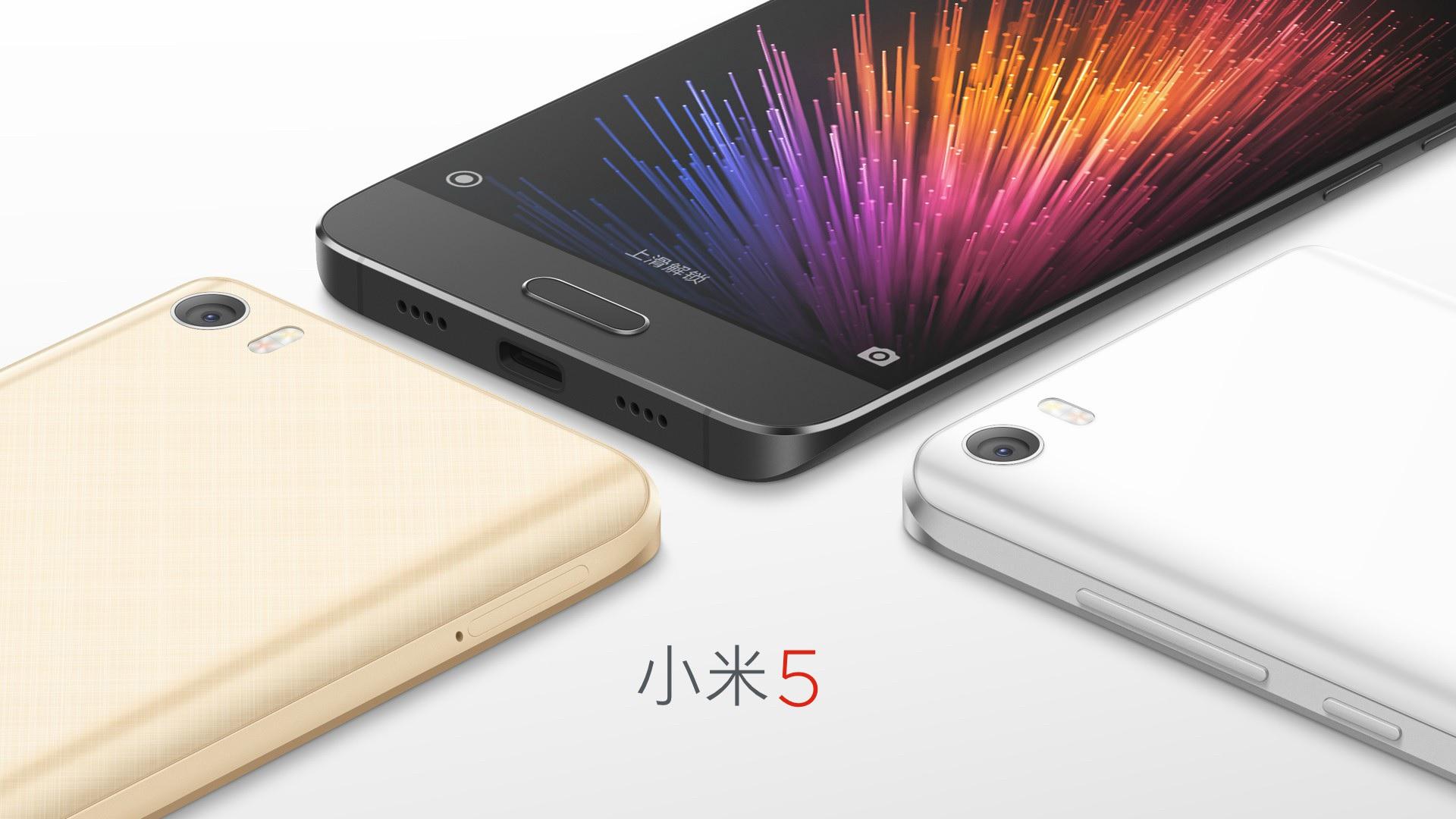 Xiaomi Mi5 / fot. producenta