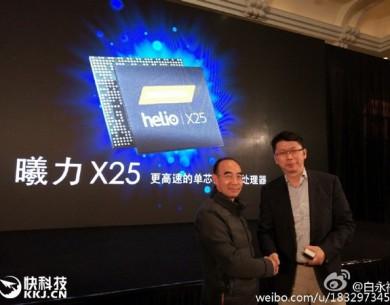 MediaTek helio X25 to układ stworzony dla Meizu PRO 6