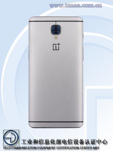 OnePlus 3 / fot. TENAA
