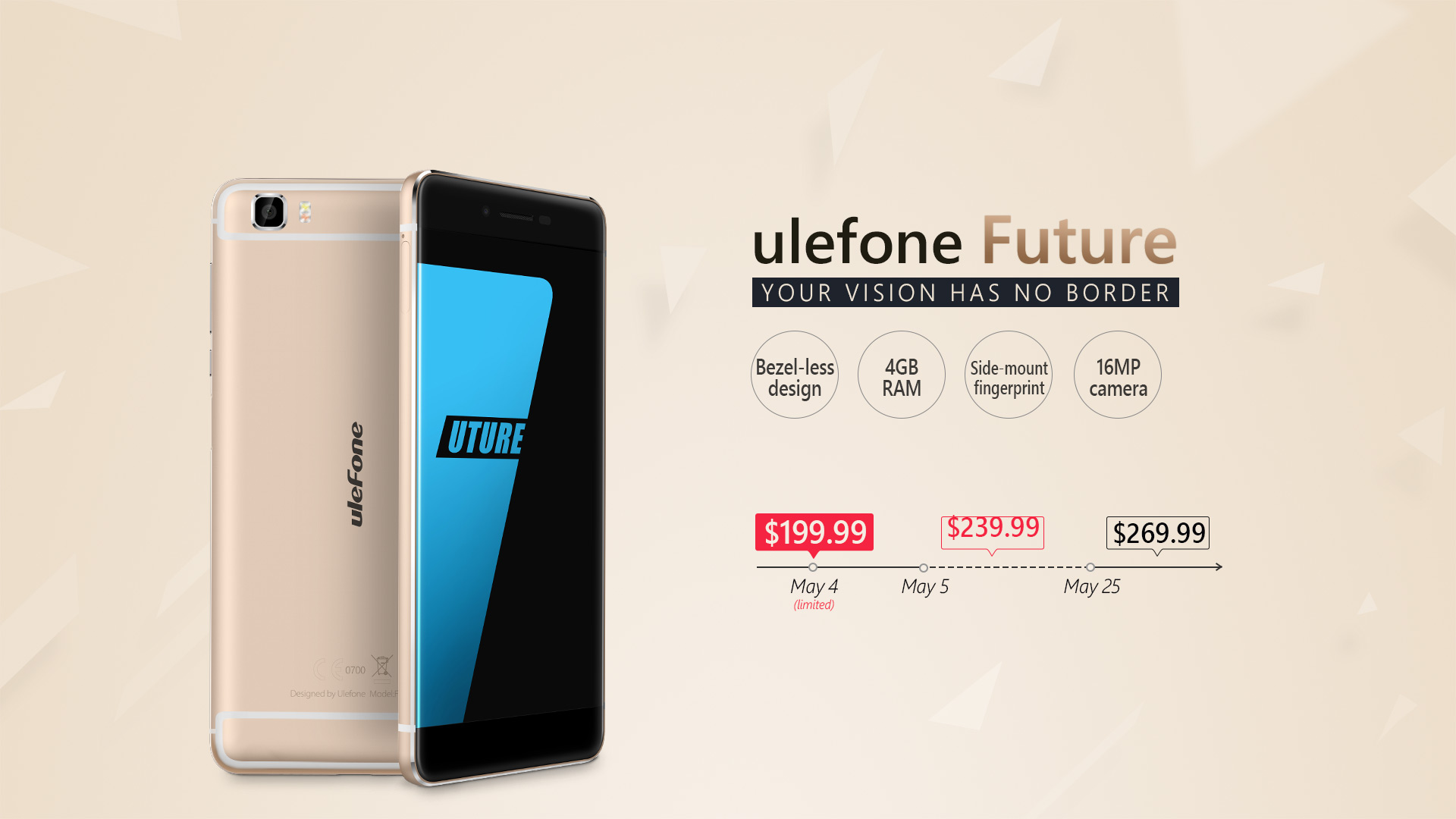 Ulefone Future / fot. producenta