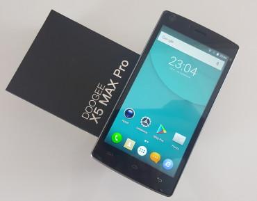 Recenzja: DOOGEE X5 Max Pro – tani smartfon z czytnikiem linii papilarnych, baterią 4000 mAh i LTE