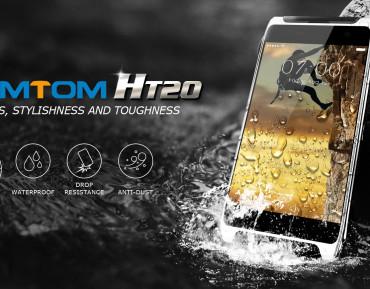 HOMTOM HT20 – ekran 4.7″, czujnik biometryczny i IP68