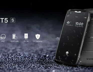DOOGEE T5s – niedrogi i wytrzymały smartfon z pojemnym akumulatorem