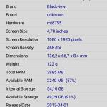 Blackview P2 - screen 12