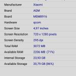 AGM A8 - screen 13