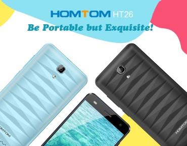 HOMTOM HT26 – niedrogi smartfon z ekranem 4.5″